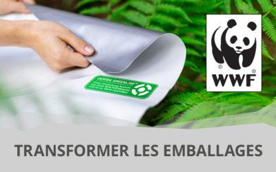 Transformer les emballages – une étude de WWF montre que le film DERIBA GREENLINE® est en phase avec son époque